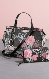 Next Floral Print Top Handle Tote Bag