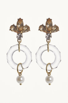 Next Stone Crystal Effect Earrings