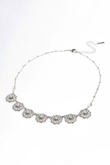 Next Pearl Effect Ornate Necklace