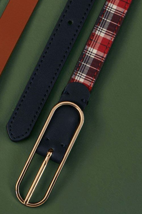 Next Check Reversible Belt