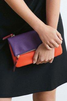 Next Fold-Over Across-Body Bag