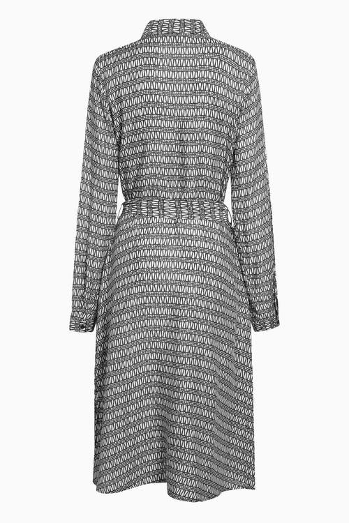 Next Print Shirt Dress - Tall