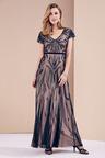 Kaleidoscope Beaded Maxi Gown