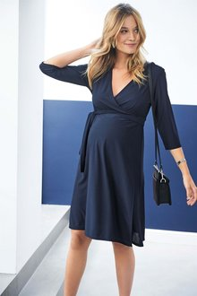 Next Maternity Wrap Dress