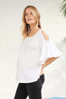 Next Maternity Flute Sleeve Top