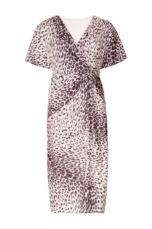 Together Printed Wrap Dress