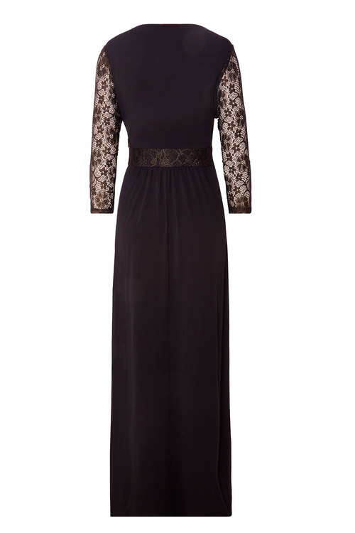 Together Lace Evening Maxi Dress