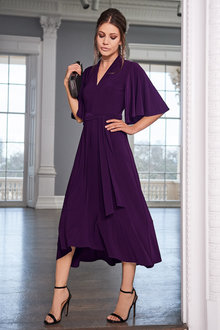 Together Flute Sleeve Dress