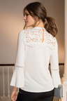 Together Victoriana Lace Sweater