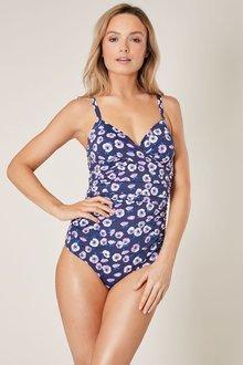 Next Poppy Print Shape Enhancing Swimsuit