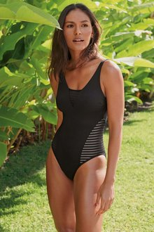 Next Mesh Side Swimsuit