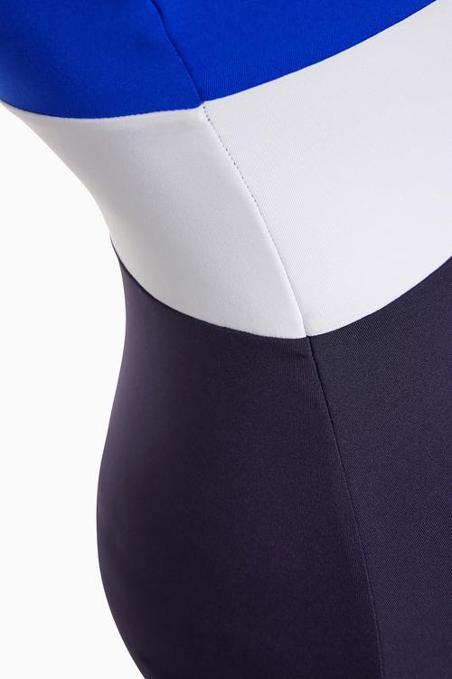 Next Colourblock Bandeau Swimsuit
