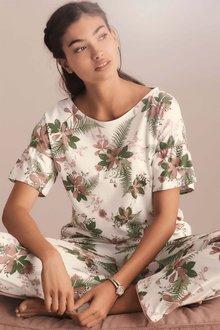 Next Ruffle Palm Pyjama Set