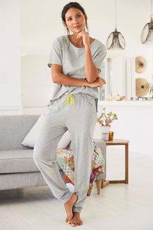 Next Daisy Cotton Blend Pyjamas