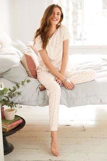 Next Cotton Ruffle Pyjamas
