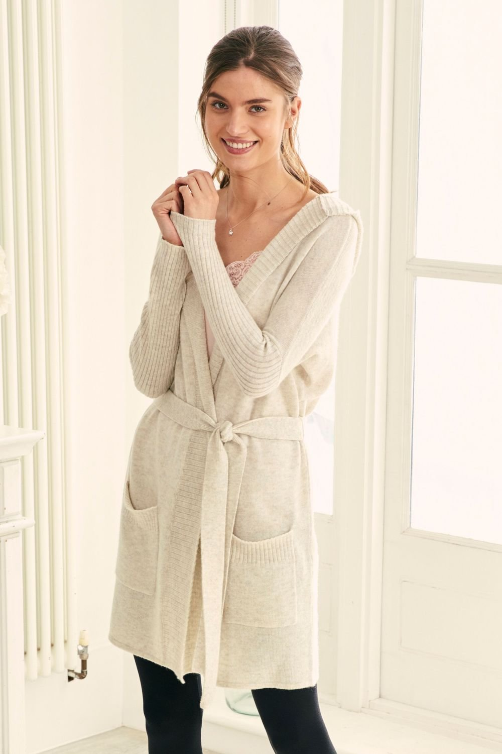 brand new 2e764 549ad Next Premium Knitted Cardigan With Cashmere