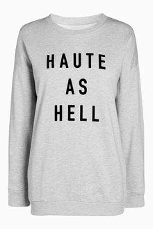 Next Slogan Sweater