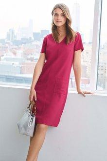 e7fdec1418 Next Crepe Shift Dress - Petite Online