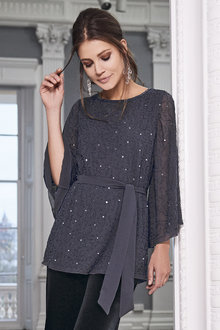 Together Bead Embellished Top - 211114