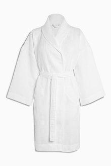 Next Cotton Waffle Robe