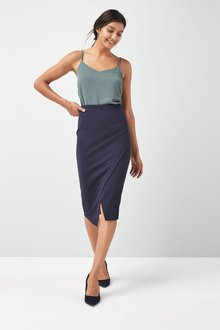 Next Navy Pencil Skirt