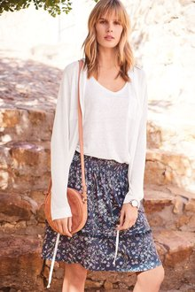 Next Pom Pom Trim Skirt