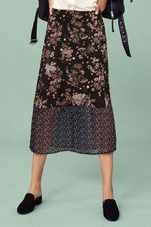 Next Spliced Midi Skirt - Tall