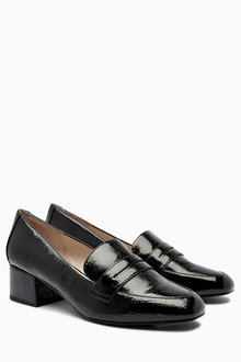 Next Heeled Loafers
