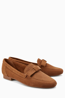 Next Bow Detail Loafers