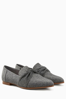 Next Twist Detail Loafers