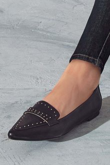Next Stud Point Loafers