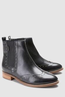 Next Signature Studded Chelsea Boot