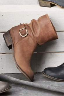 Next Slouch Ankle Boots