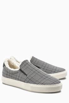 Next Slip-On Skater Shoes