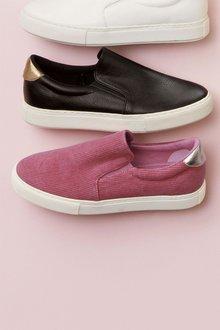 Next Slip-On Cord Skater Shoes