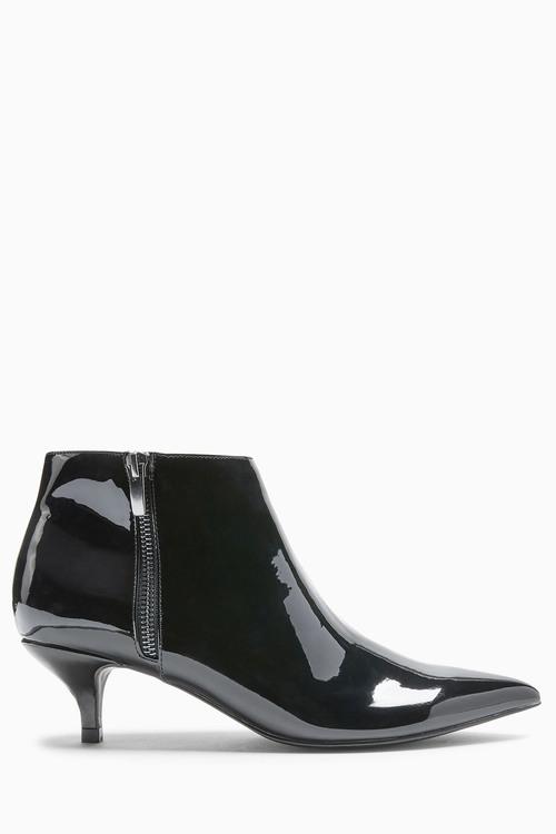 Next Kitten Heel Ankle Boots
