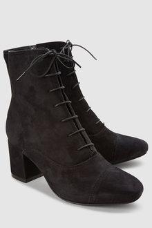 Next Signature Lace Up Boots