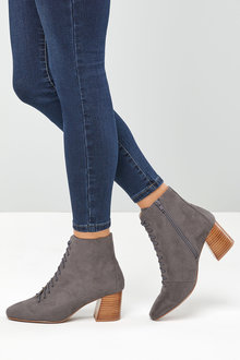 Next Lace-Up Ankle Boots