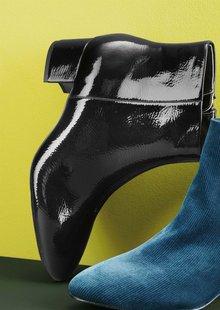 Next Block Heel Ankle Boots