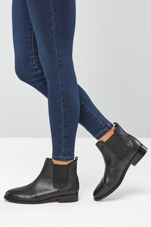 Next Leather Chelsea Boots