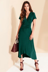 Kaleidoscope High Low Jersey Dress