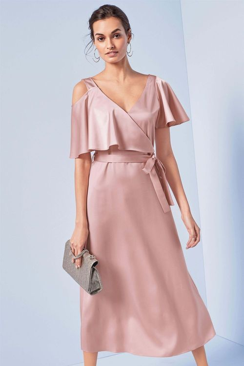 Next Satin Occasion Dress