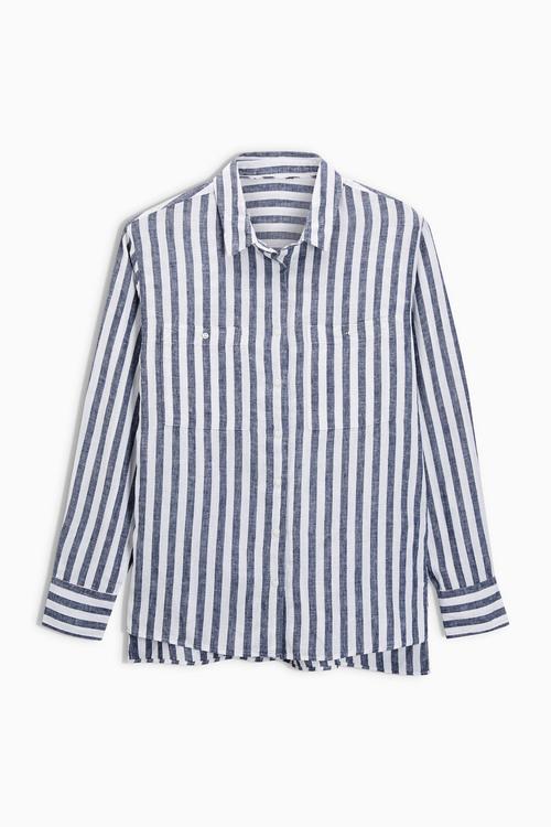 Next Linen Blend Shirt