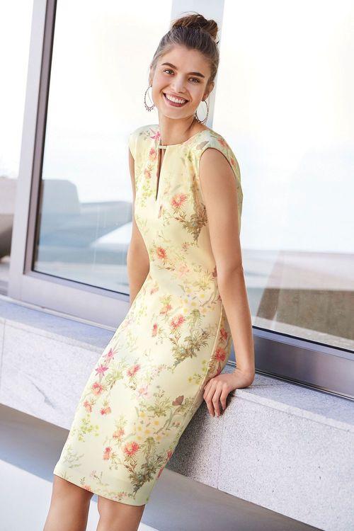 Next Print Bodycon Dress