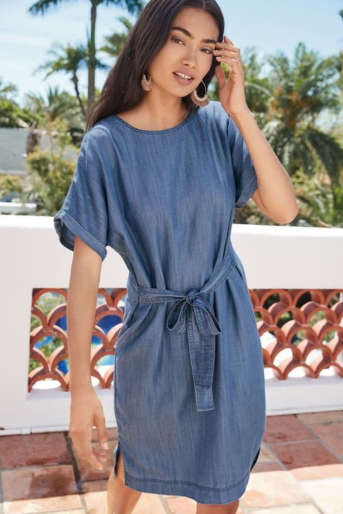 Next Tencel T-Shirt Dress