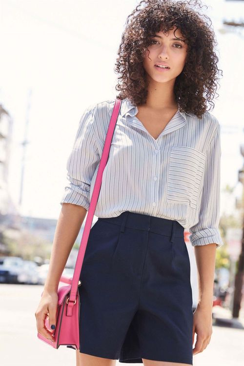 Next Stripe Shirt - Petite