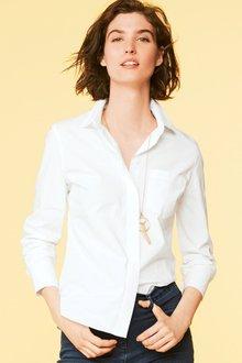 Next Cotton Rich Shirt - Petite - 211381