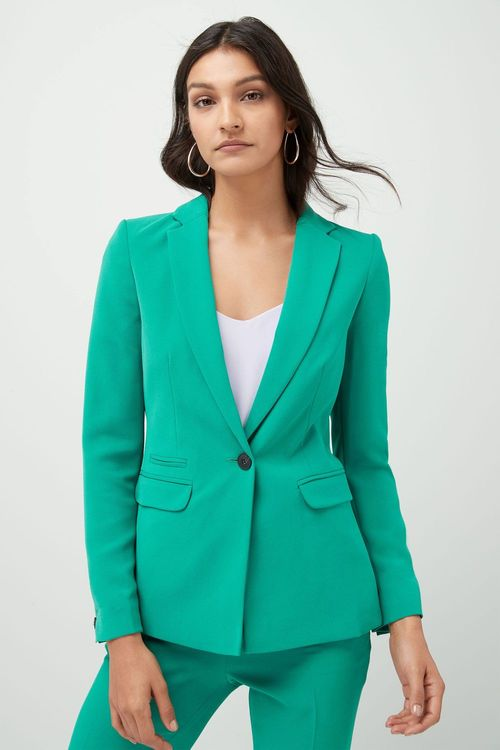 Next Crepe Single Breasted Jacket - Petite
