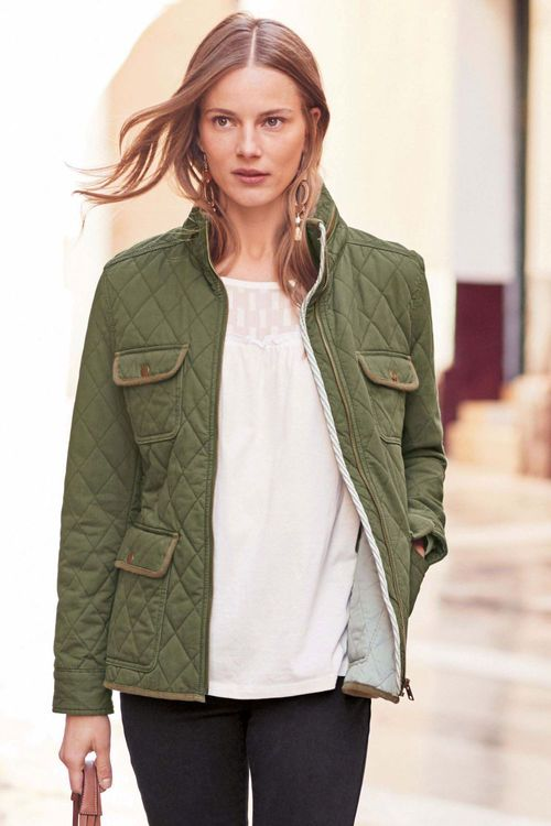 Next Short Quilted Jacket - Petite
