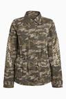 Next Khaki Camo Utility Jacket
